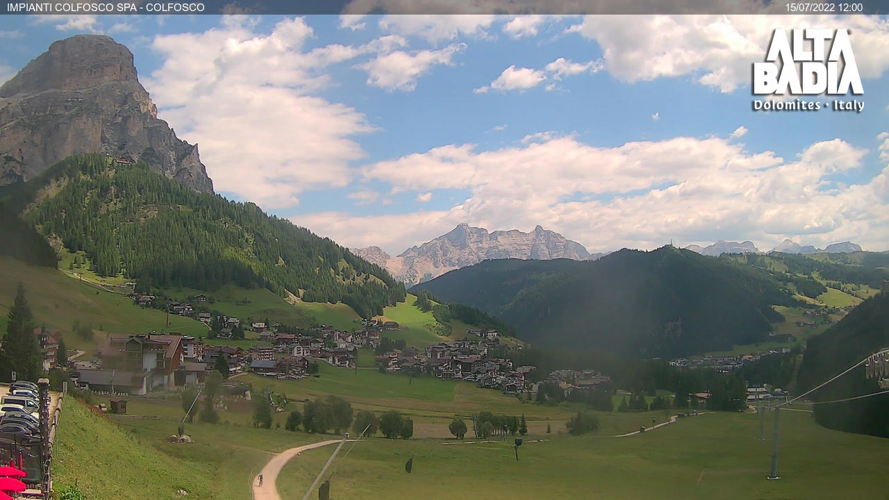 Webcam Kolfuschg/Col Pradat